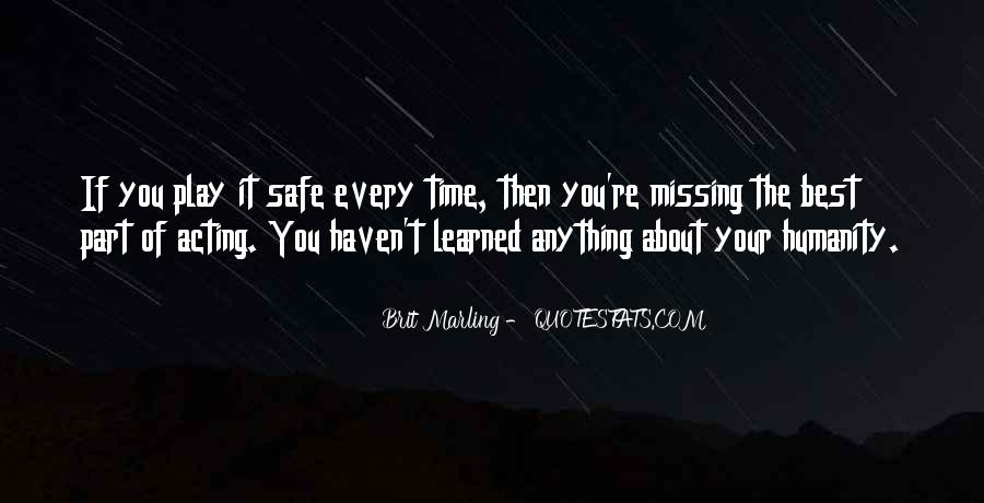 About Missing You Quotes #285056