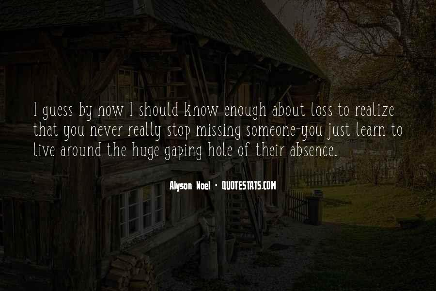 About Missing You Quotes #448826