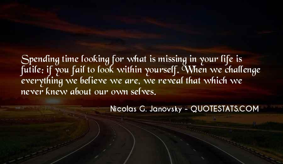 About Missing You Quotes #699536