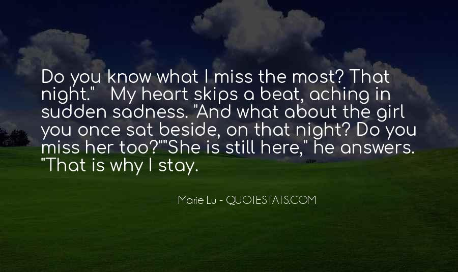 About Missing You Quotes #895808