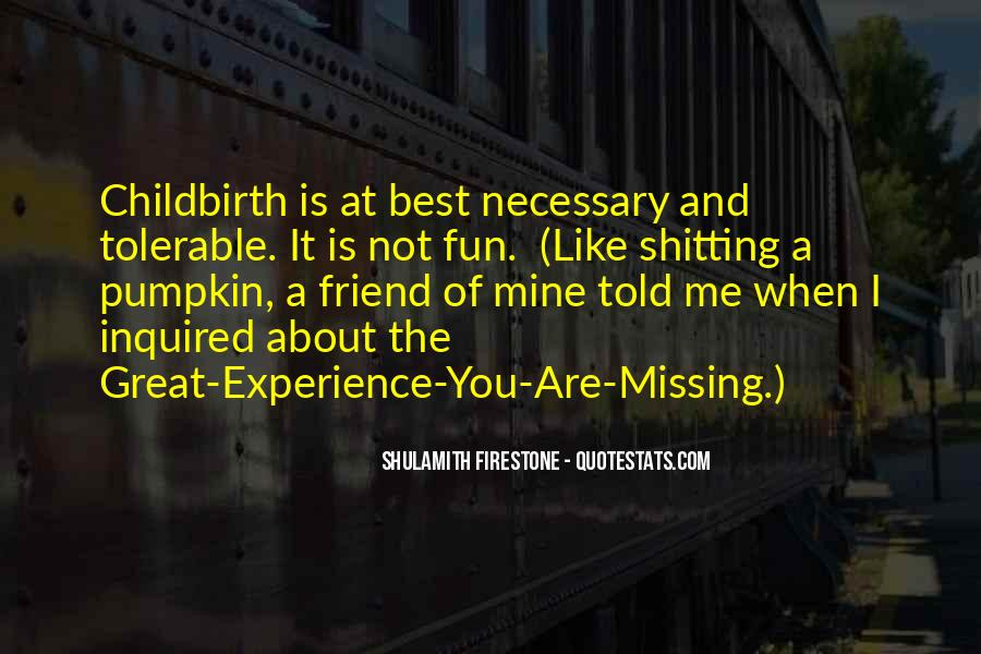 About Missing You Quotes #965739
