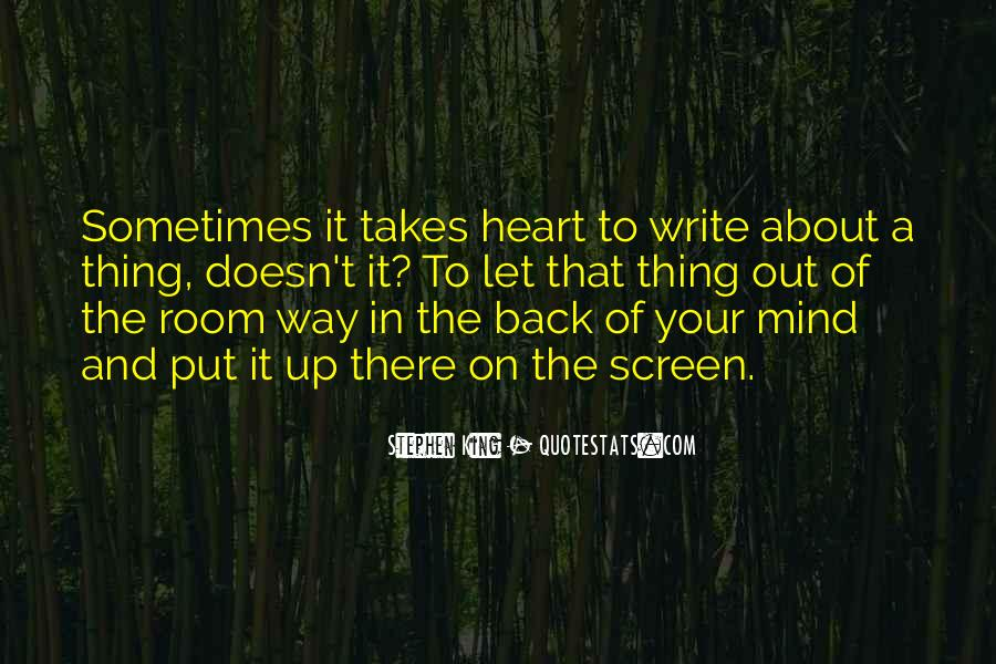 About The Heart Quotes #109562