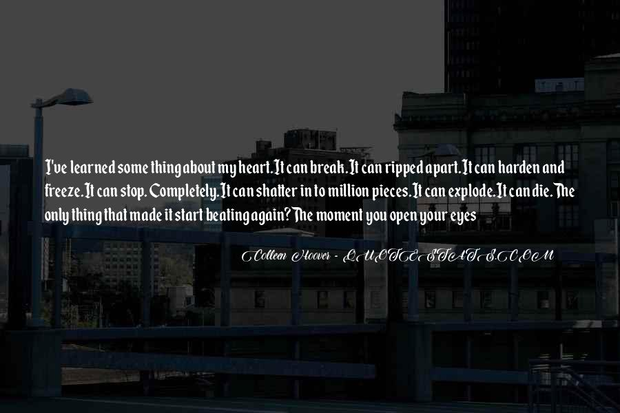 About The Heart Quotes #144661