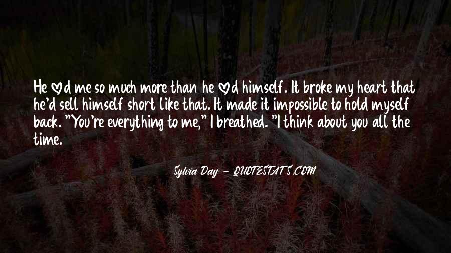 About The Heart Quotes #146725