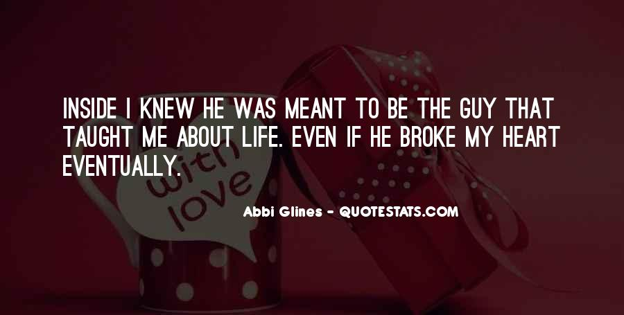 About The Heart Quotes #149531