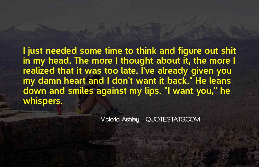 About The Heart Quotes #34004