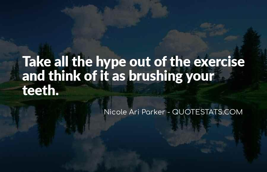 Abs Exercise Quotes #1279