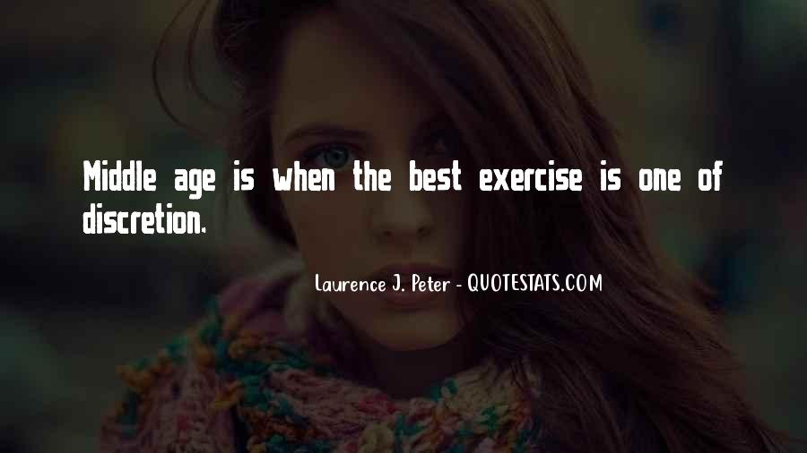 Abs Exercise Quotes #15333