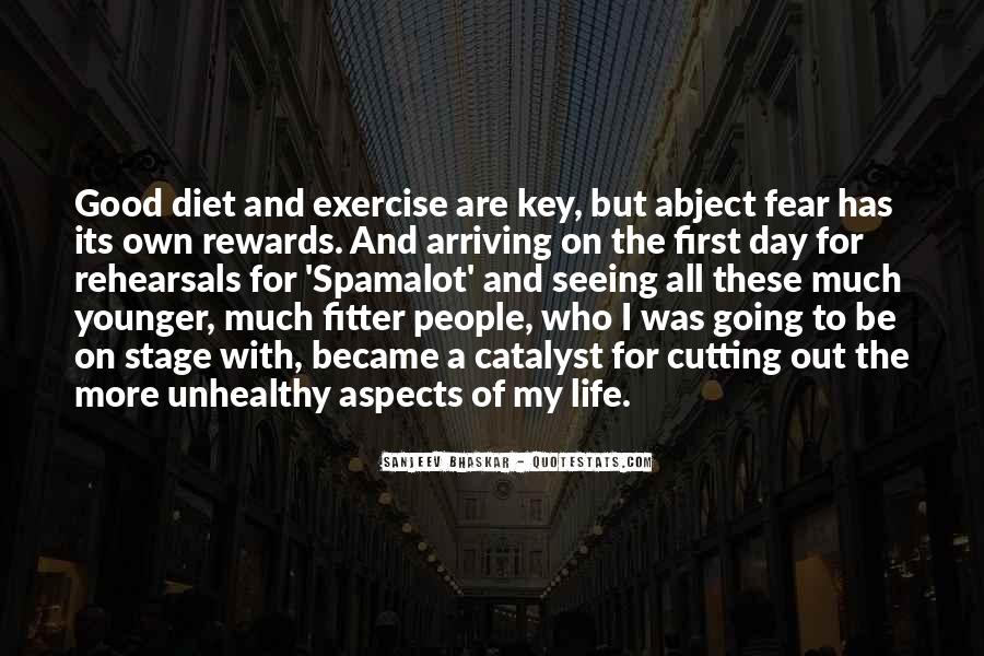 Abs Exercise Quotes #35959