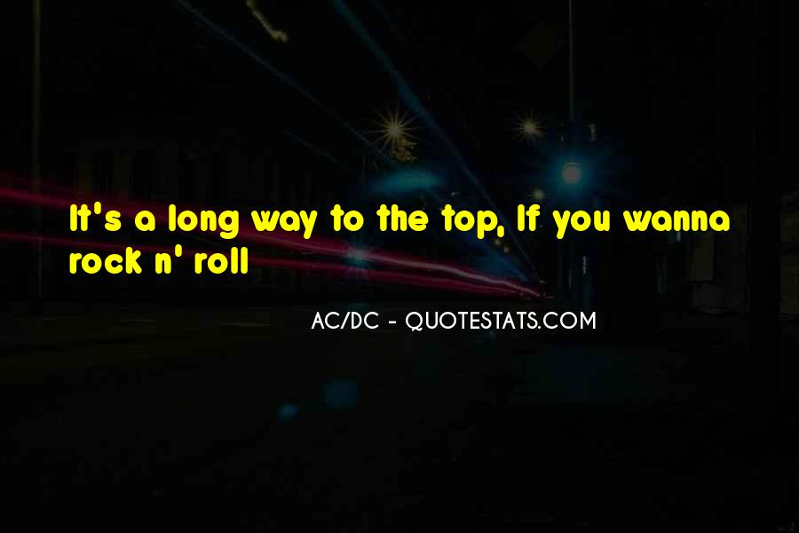 Ac Dc Rock Quotes #1801717