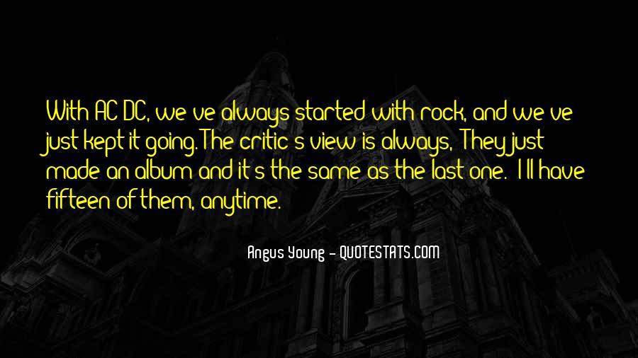 Ac Dc Rock Quotes #939465