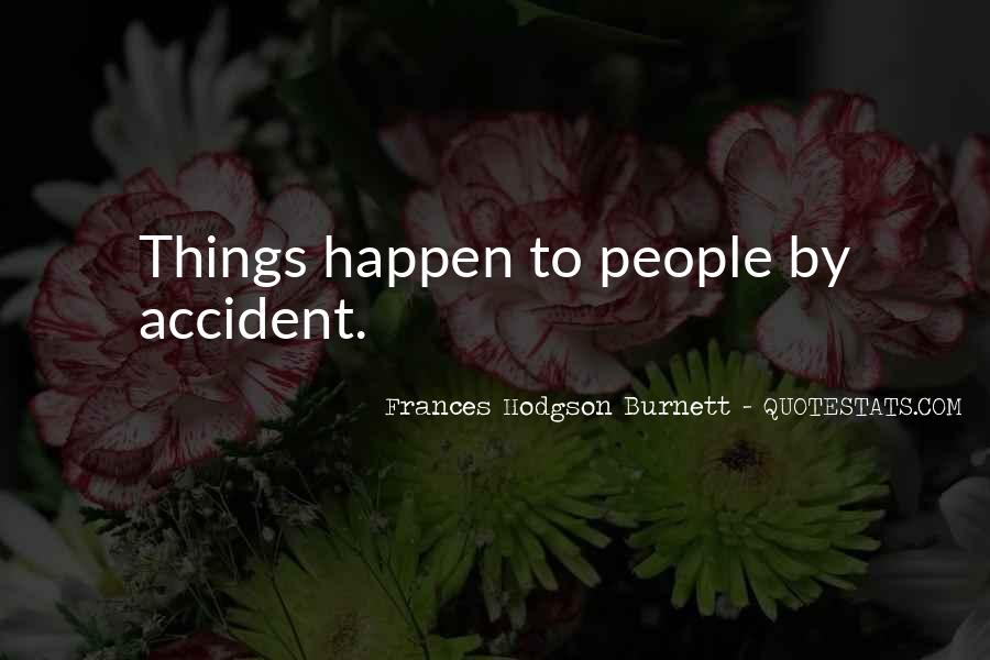Accident Quotes #23877