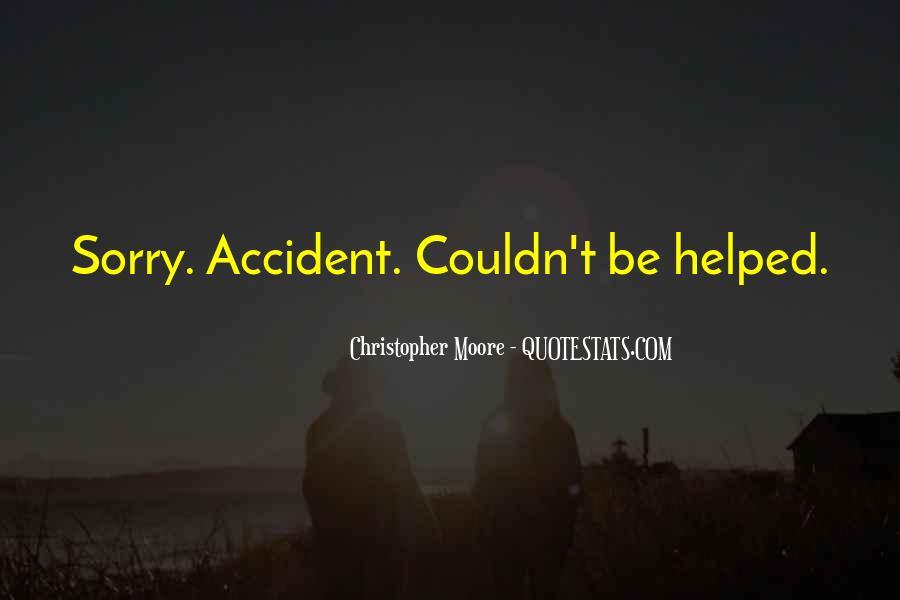 Accident Quotes #27030