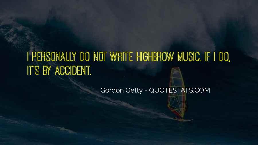 Accident Quotes #37730