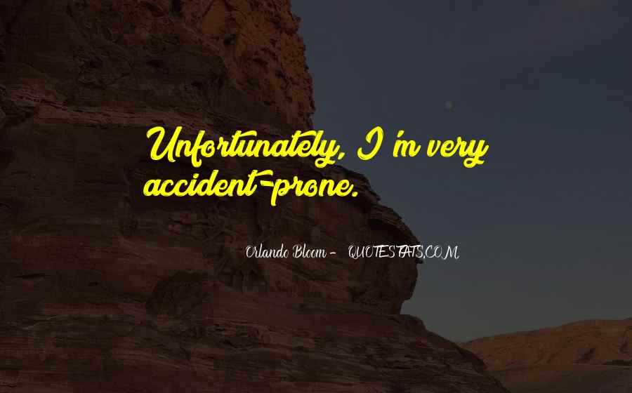 Accident Quotes #62974