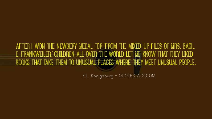 Quotes About Newbery #27946