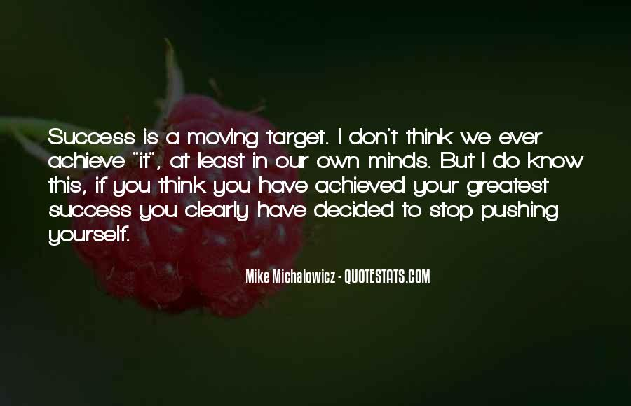 Achieve Your Target Quotes #610870