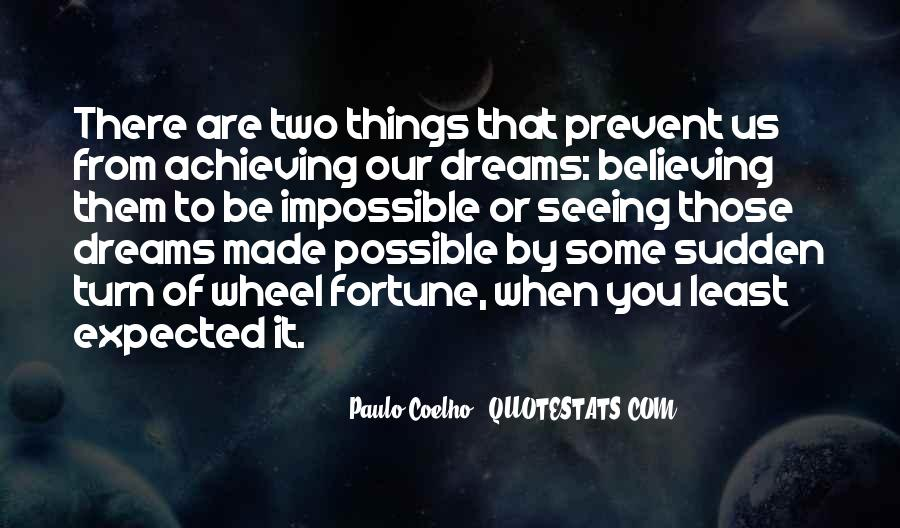 Achieving Is Believing Quotes #1649232