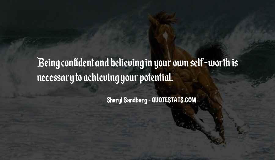 Achieving Is Believing Quotes #1665114