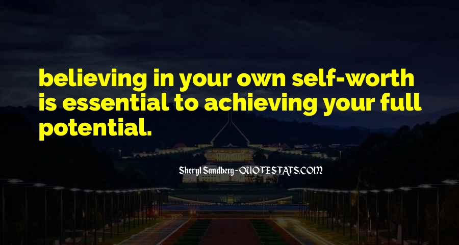 Achieving Is Believing Quotes #933931