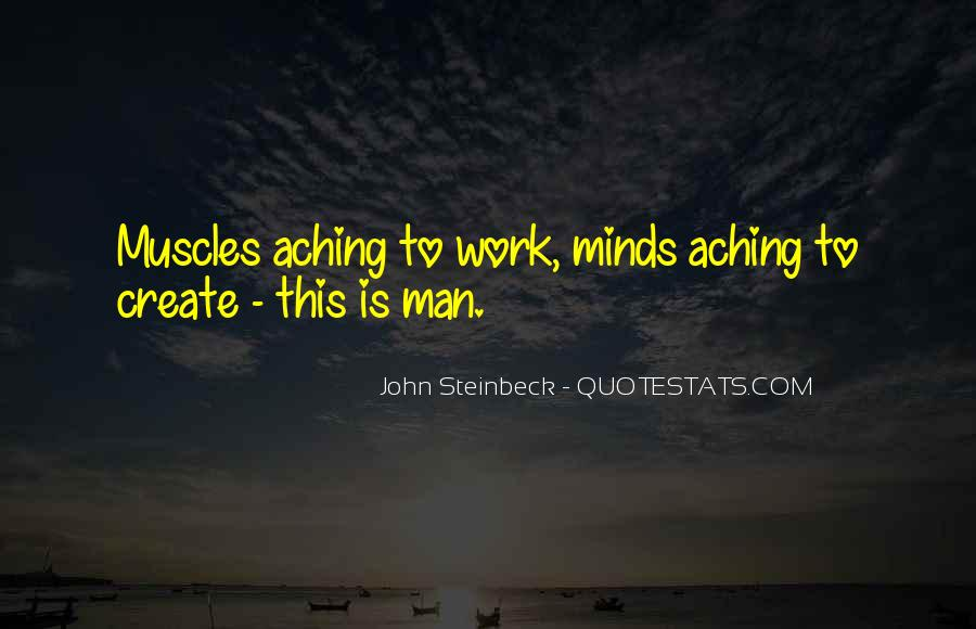 Aching Muscles Quotes #1378727