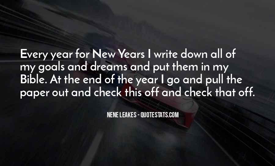 Quotes About New Years Goals #1227428
