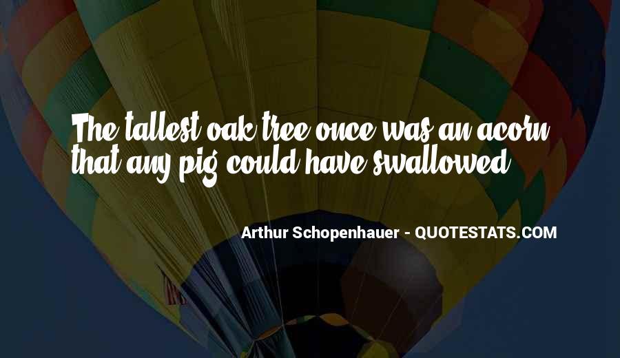Acorn And Oak Tree Quotes #151455
