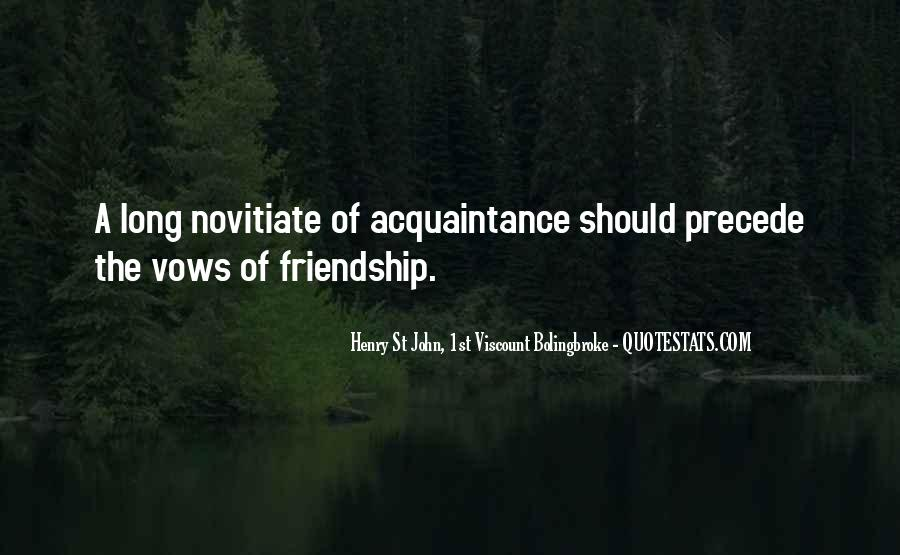 Acquaintance Friendship Quotes #72185