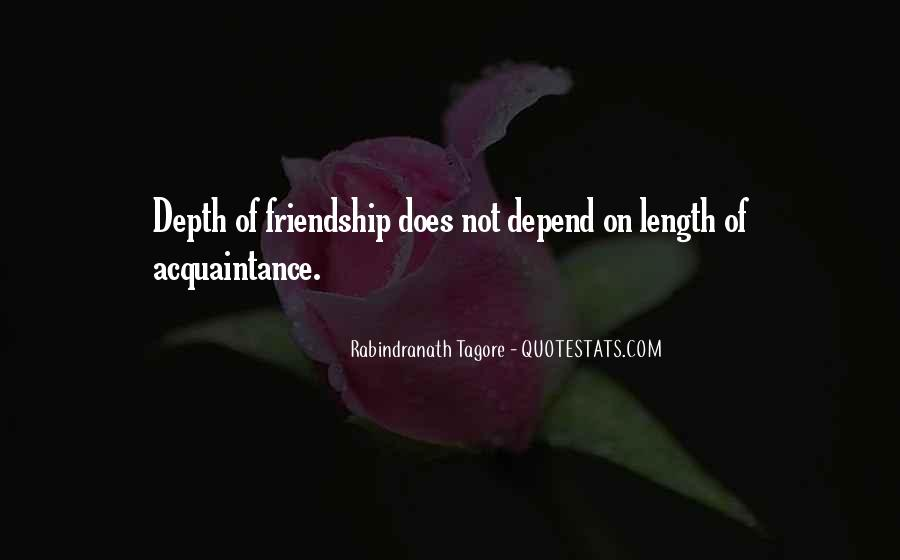 Acquaintance Friendship Quotes #77133