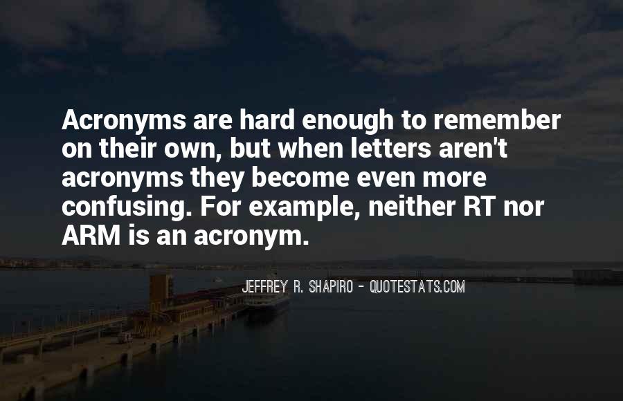Acronym Quotes #1344973