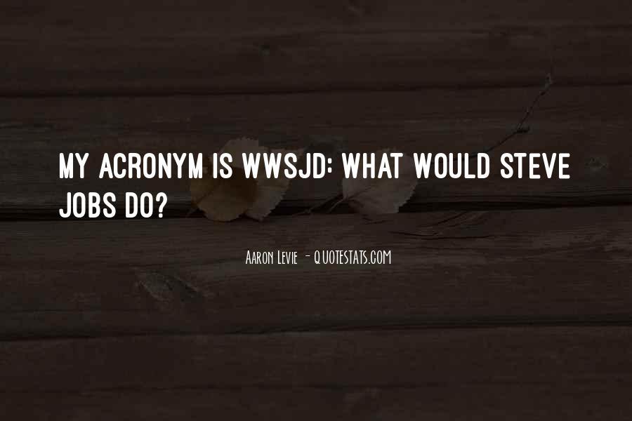 Acronym Quotes #950449