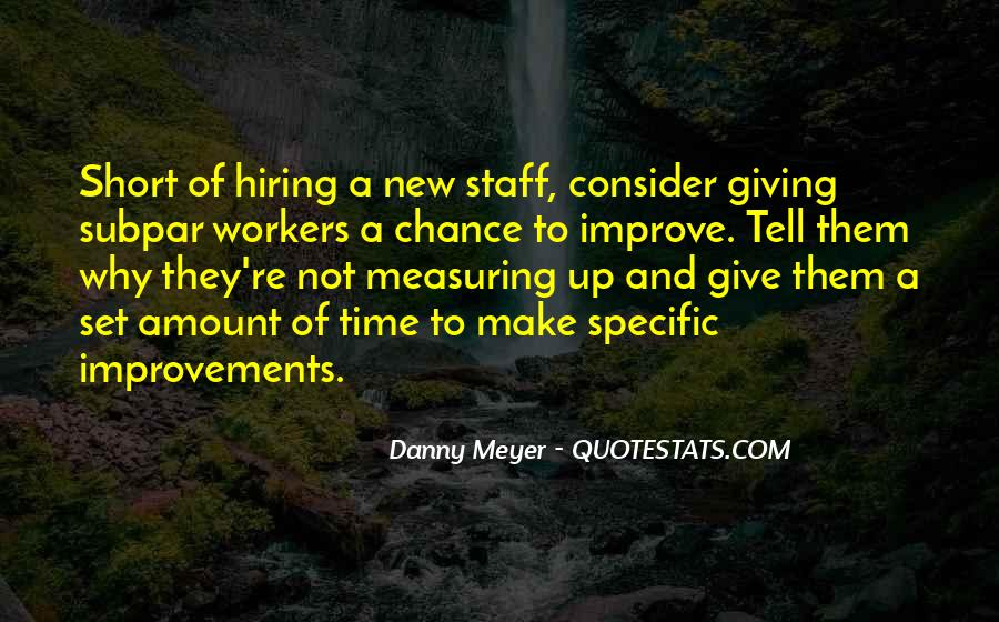 Quotes About New Workers #103831