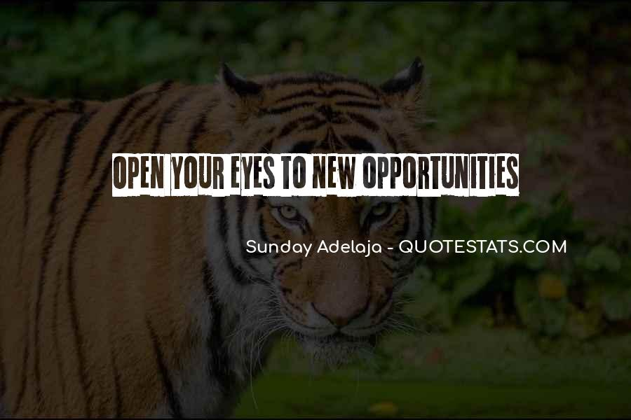Quotes About New Work Opportunities #1384581