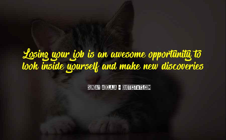 Quotes About New Work Opportunities #666160