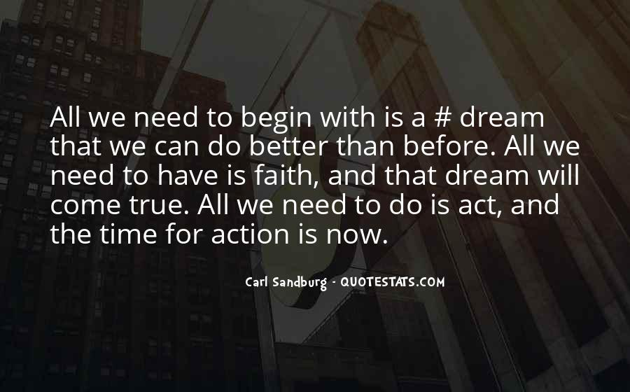 Act Now Quotes #491883