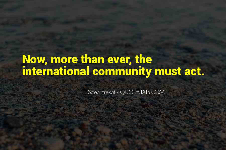 Act Now Quotes #596110