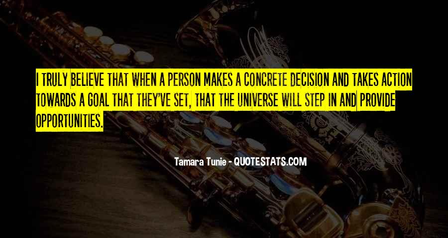 Action And Decision Quotes #1208304