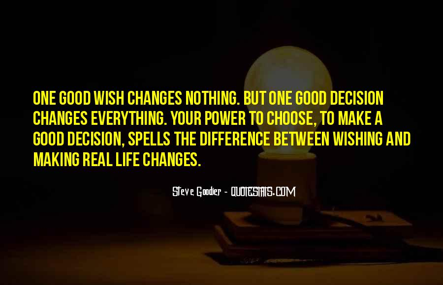 Action And Decision Quotes #265378