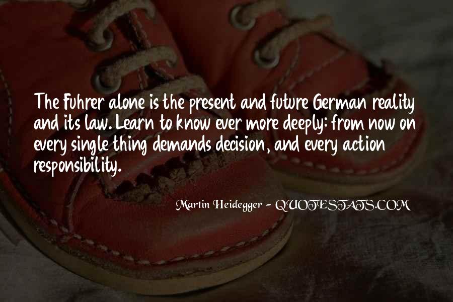 Action And Decision Quotes #536493