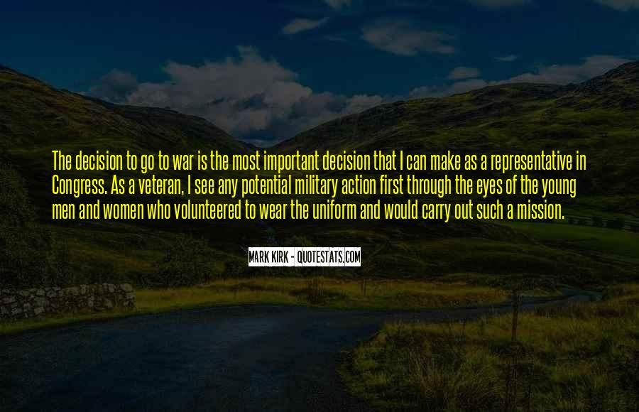 Action And Decision Quotes #584426