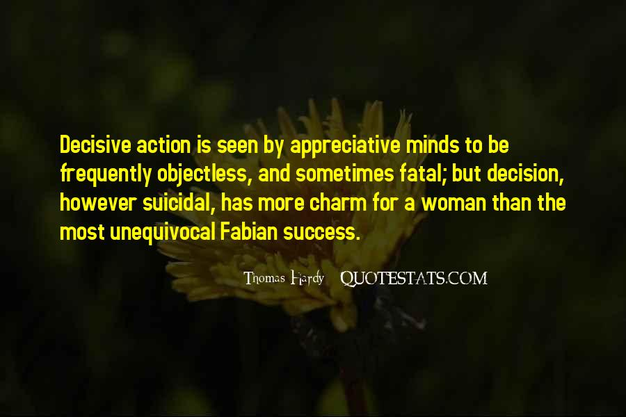 Action And Decision Quotes #644918
