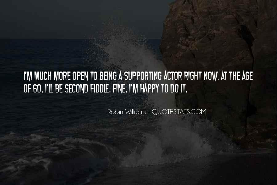 Actor Robin Williams Quotes #1382716