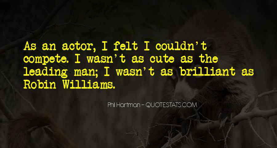 Actor Robin Williams Quotes #1622449