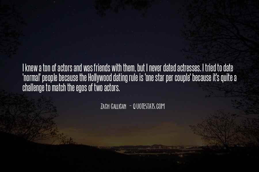 Actors And Actresses Quotes #1038449