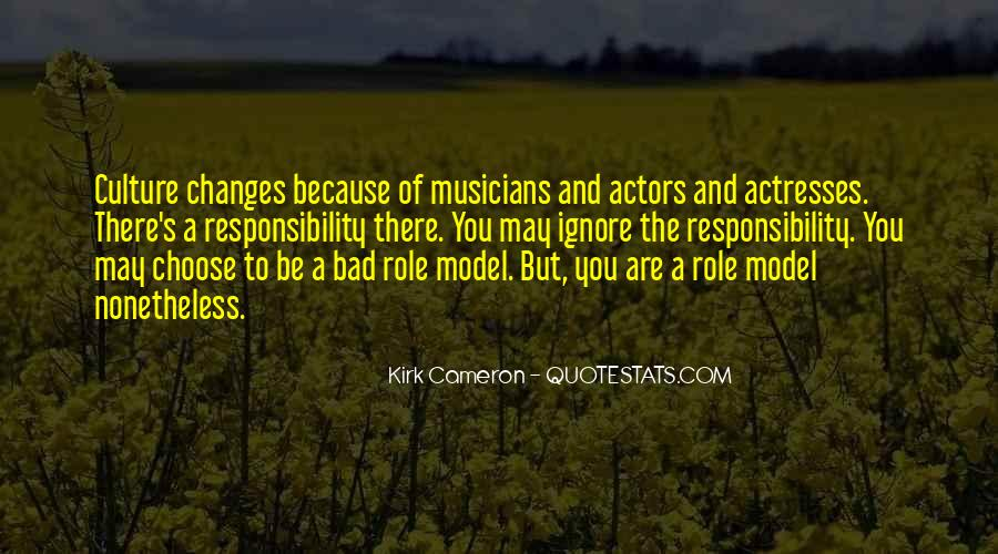 Actors And Actresses Quotes #1250918