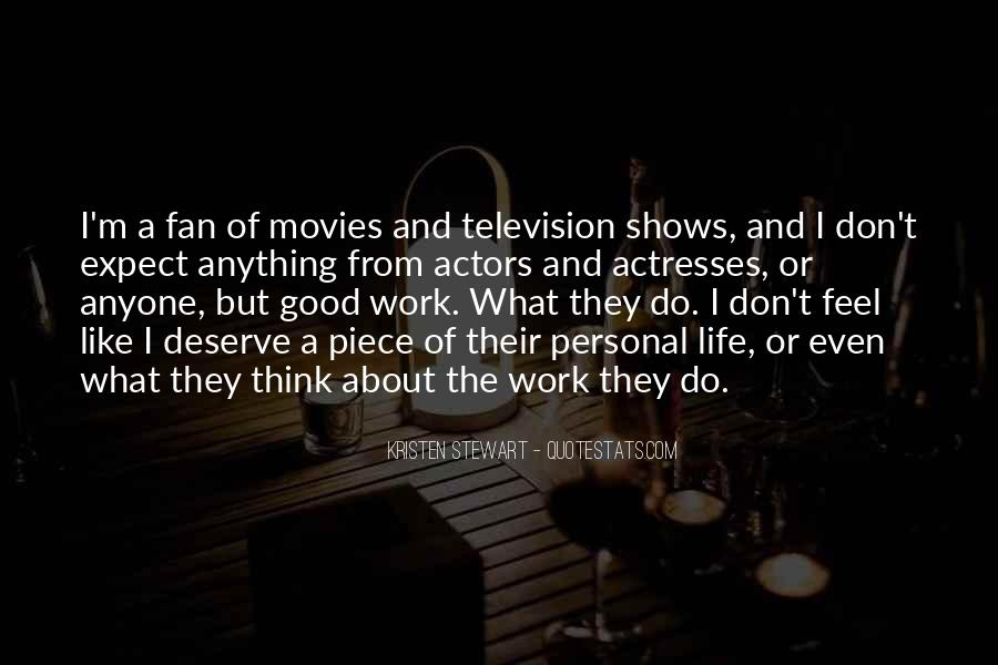 Actors And Actresses Quotes #149957