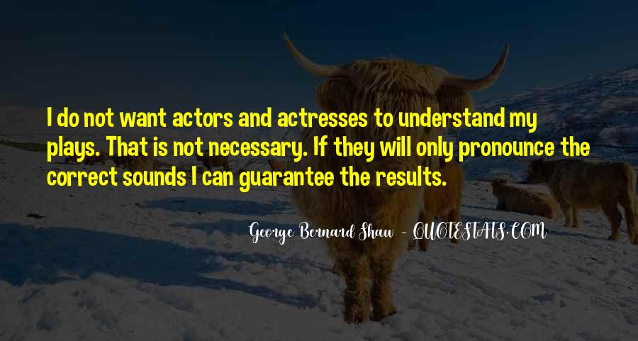 Actors And Actresses Quotes #394558