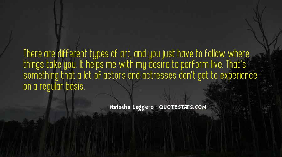Actors And Actresses Quotes #396178