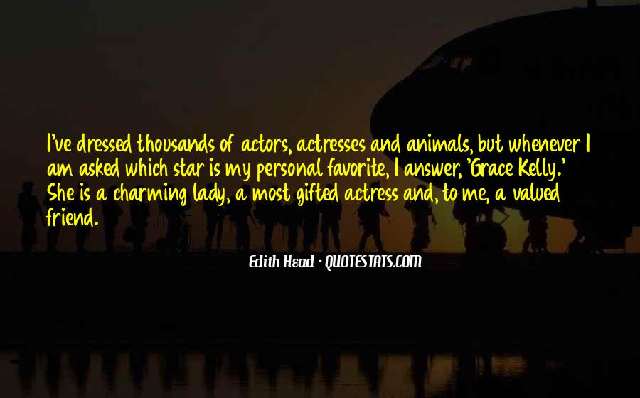 Actors And Actresses Quotes #515566