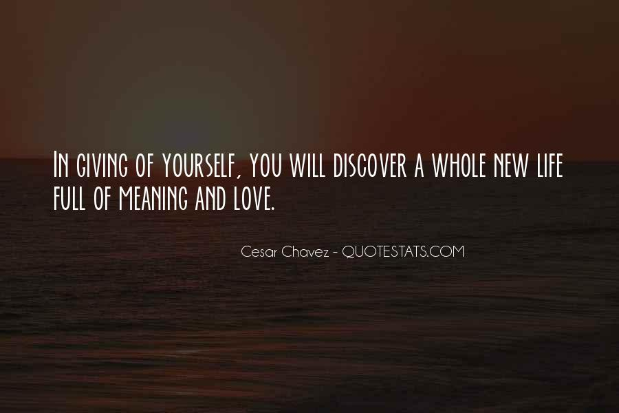 Quotes About New Life And Love #628763